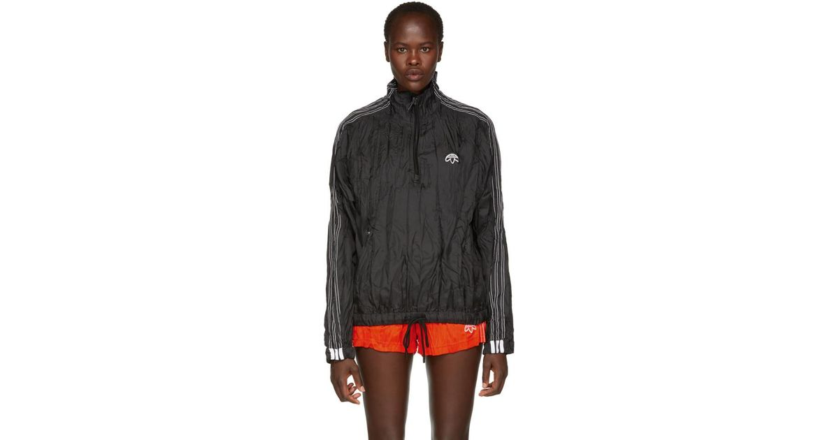 adidas Originals by Alexander Wang adidas Originals by Alexander Wang Red Adibreak Windbreaker Jacket from SSENSE | ShapeShop
