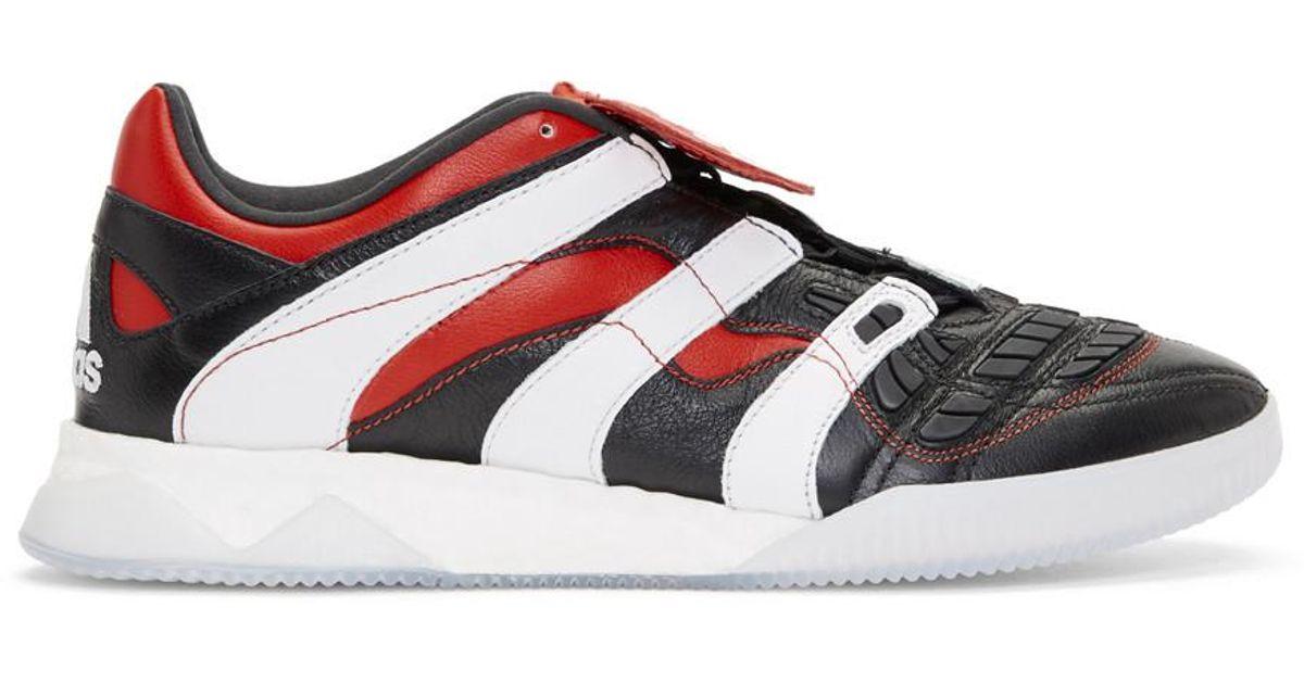 9596c2a8ffb Lyst - Adidas Originals Black Predator Accelerator Tr Sneakers for Men