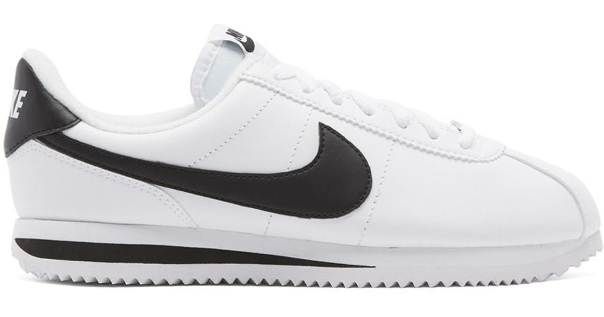 release date: fa992 06a78 Lyst - Nike Cortez Basic Leather in White for Men - Save 91.77777777777777%