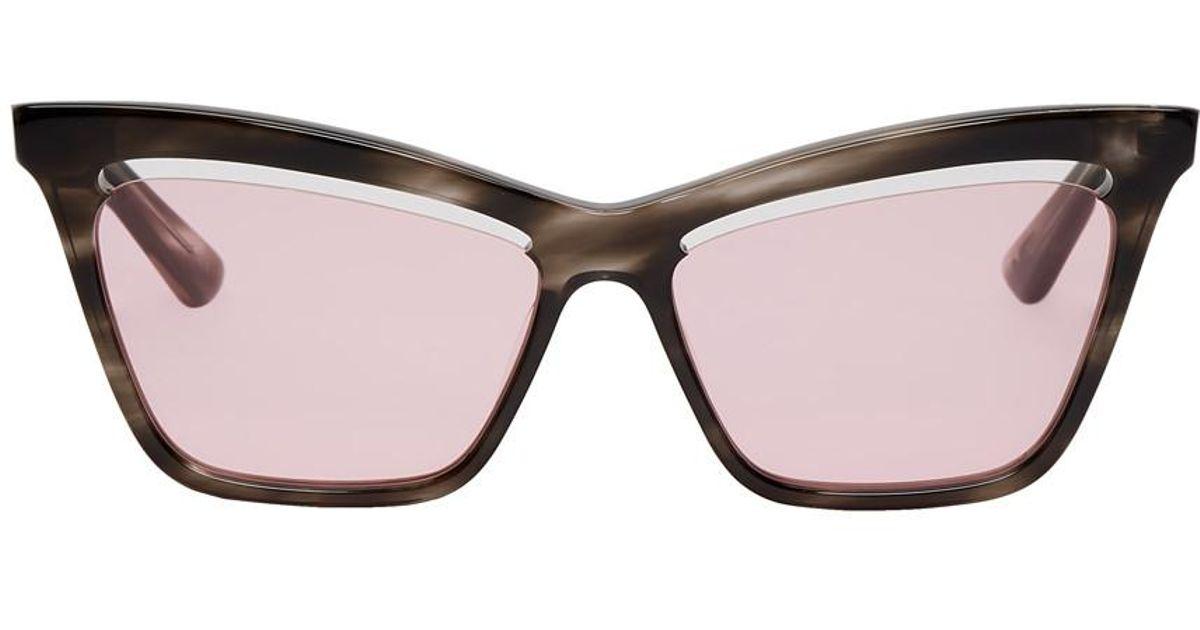 ca8e8d872f Lyst - Mcq Alexander Mcqueen Tortoiseshell Iconic Sunglasses