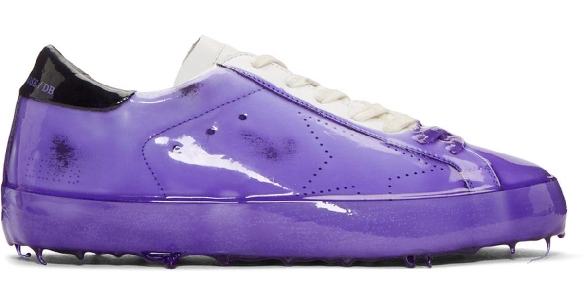 Purple Skate Dip Superstar Sneakers Golden Goose kZxCMIi50