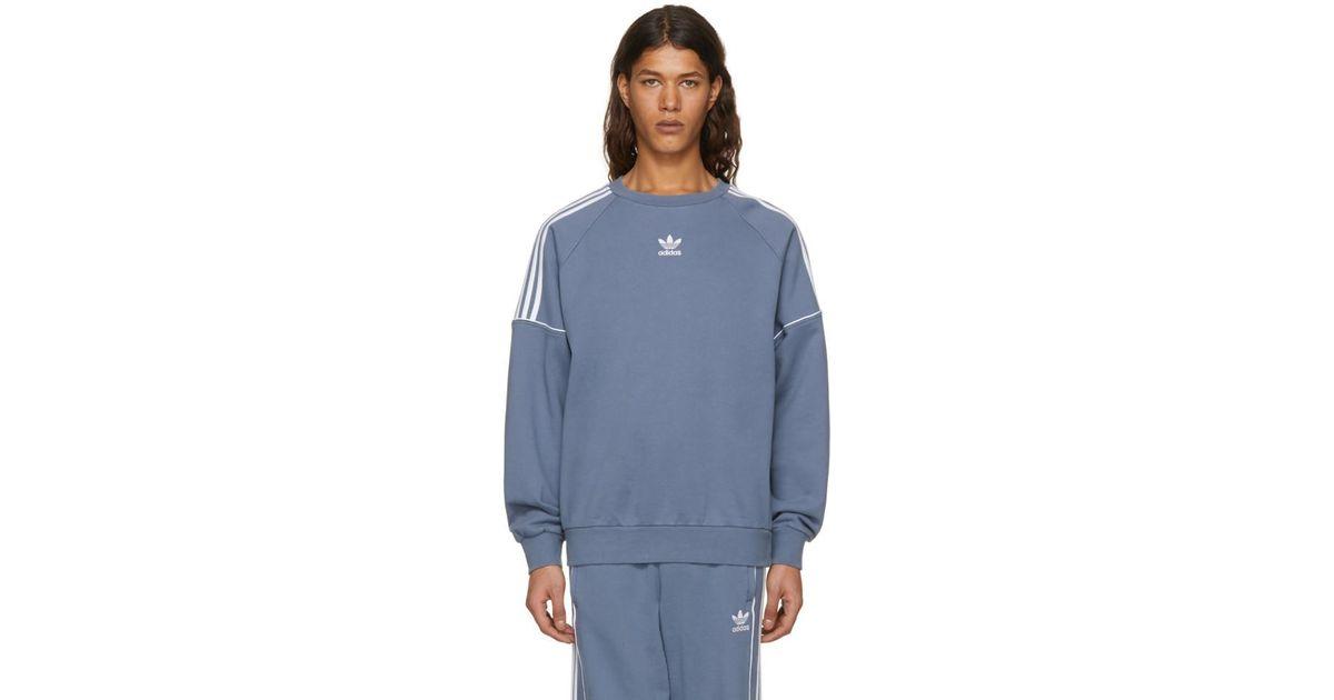 Grey Pipe Crew Sweatshirt adidas Originals Discount Extremely qTksDq9B