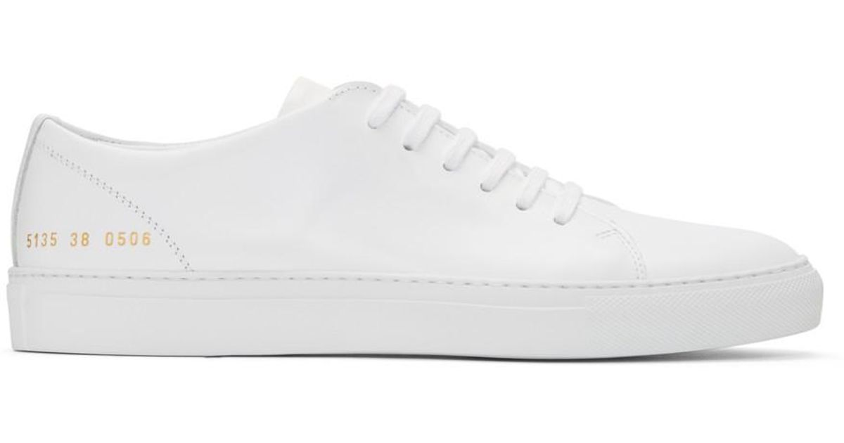 Black New Court Low Sneakers Common Projects UtCtKKTn32
