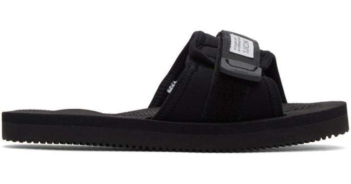 a9b1ffa170b1 Lyst - Suicoke Black Padri Sandals in Black for Men