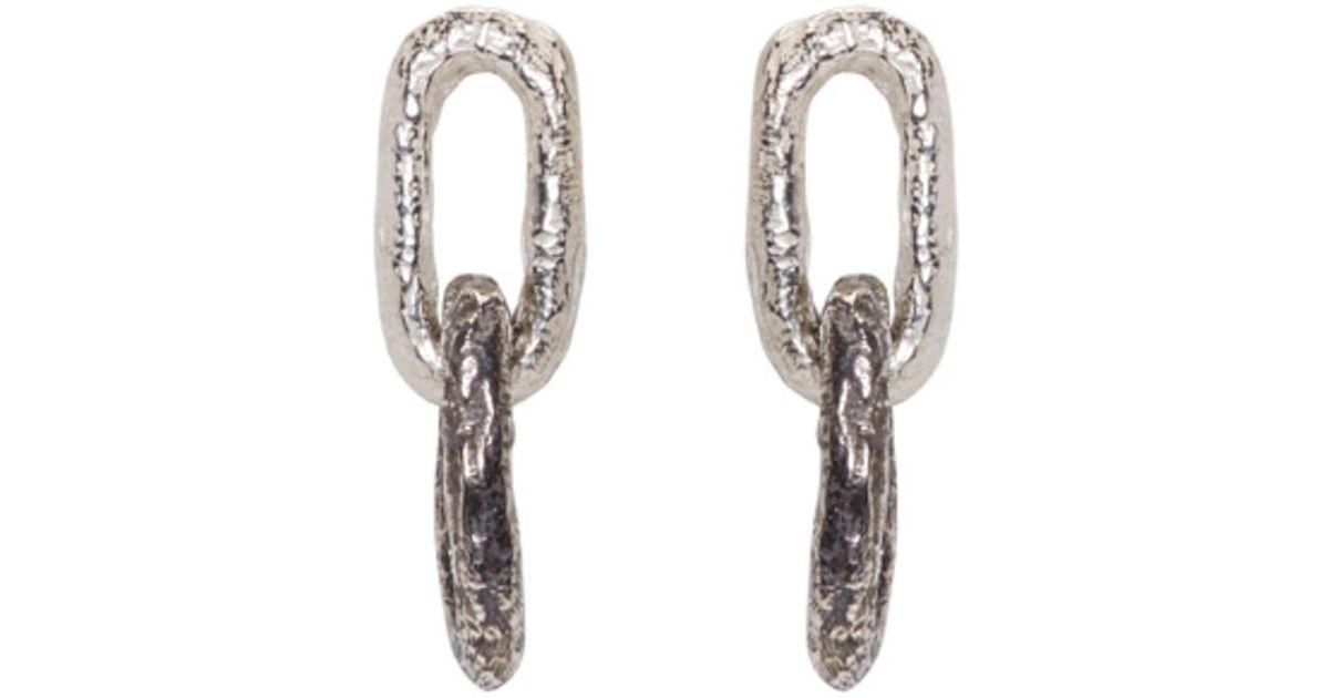 Burberry Double-Link earrings - Metallic OZvAI4