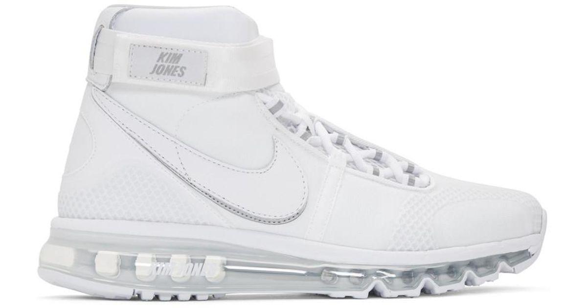 Valentino White Kim Jones Edition Air Max 360 High-Top Sneakers