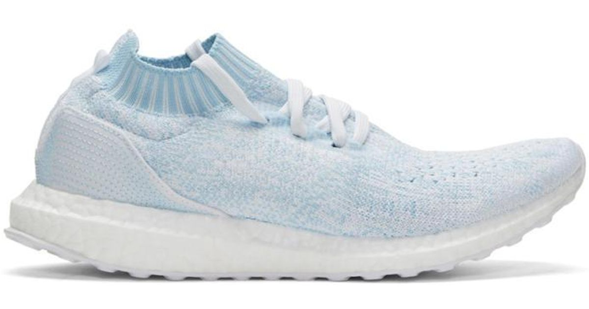 c5dffd538b04e ... norway lyst adidas originals blue ultraboost uncaged parley slip on  sneakers in blue for men 68e3b