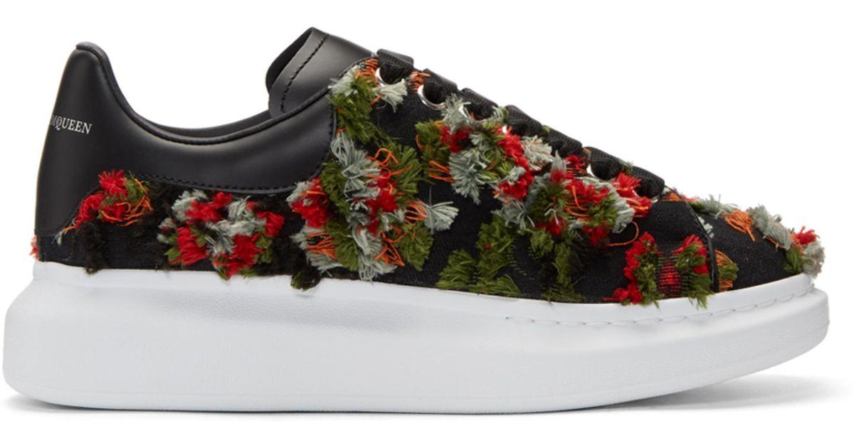 Alexander McQueenFrayed Trim Sneakers 2njrUe