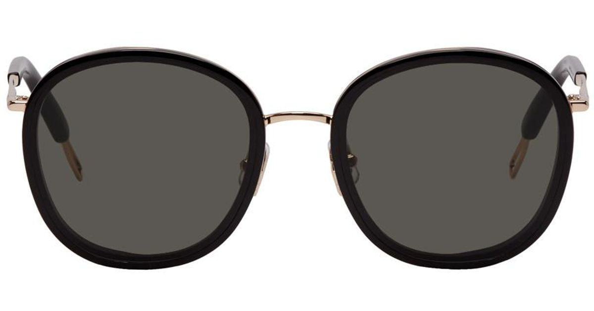 a4c14b23d3b Lyst - Gentle Monster Black And Rose Gold Ollie Sunglasses in Black for Men