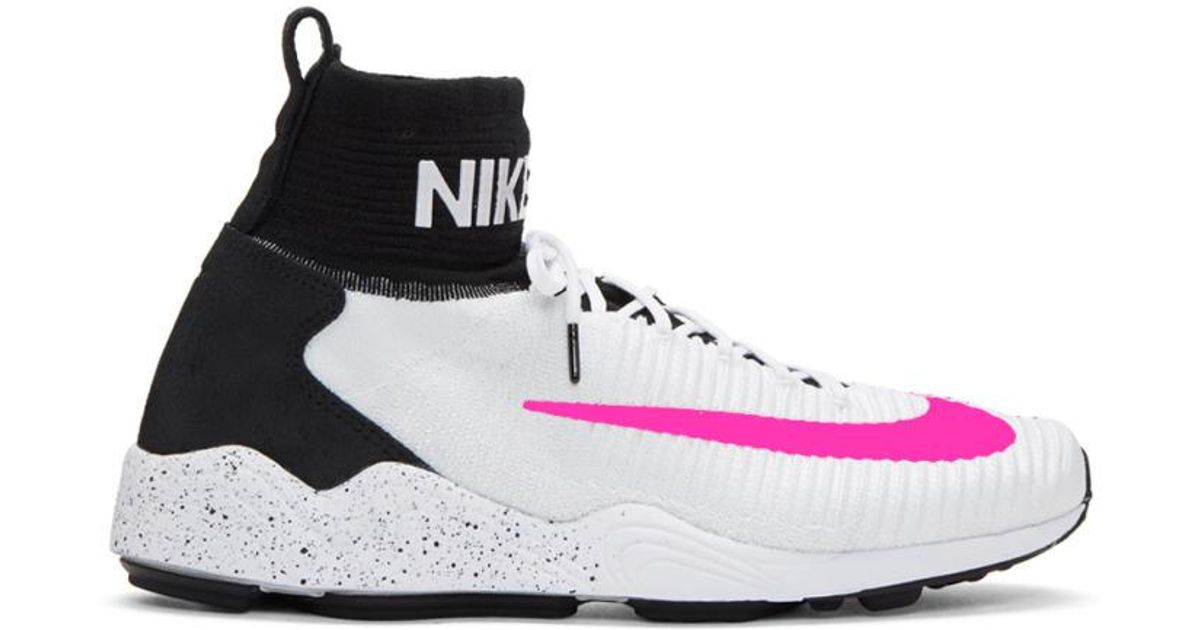 Nike White And Pink Zoom Mercurial Xi Fk Fc in White - Lyst 97f538836cf4
