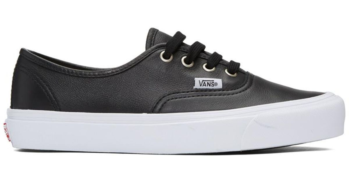 0e1eac67547e55 Lyst - Vans Black Ua Og Authentic Lx Vl Sneakers in Black for Men