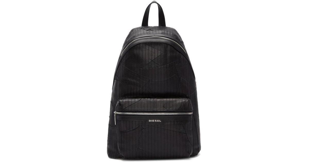 163d40f93e Lyst - DIESEL Black L-grungy Backpack in Black for Men
