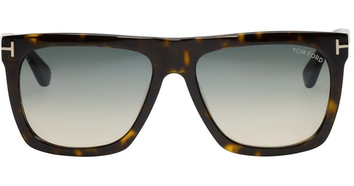 d1e0813a68 Lyst - Tom Ford Tortoiseshell Morgan Sunglasses for Men