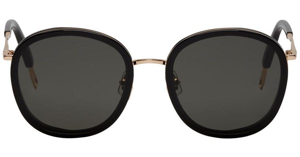 e72b83fe448 Lyst - Gentle Monster Black Ollie Sunglasses in Black for Men