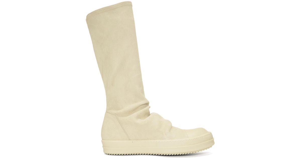 Sale Professional Cheap Sale Original Rick Owens & Off- Sock High-Top Sneakers Outlet Best Wholesale PU55hTeht
