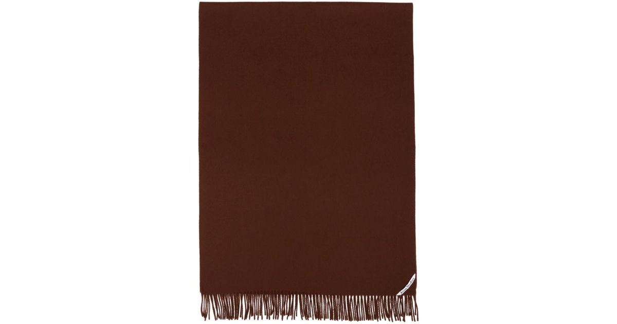 Lyst - Foulard brun Canada New Acne pour homme en coloris Marron fc5a40e7ca9