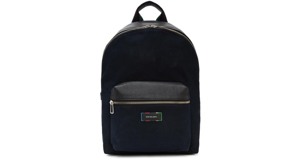 Paul Smith Canvas and Leather Detail Backpack Sale Amazing Price V1YHXF