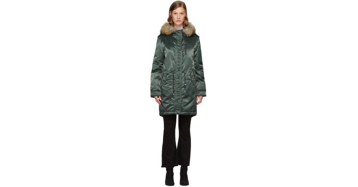 b95c9bf8b Mackage Green Down Reba Jacket