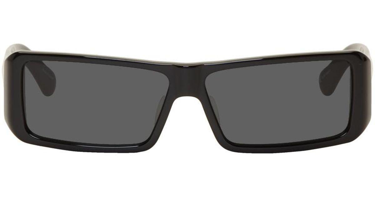 791d643639da Lyst - Dries Van Noten Black Linda Farrow Edition 157 C1 Sunglasses in  Black for Men
