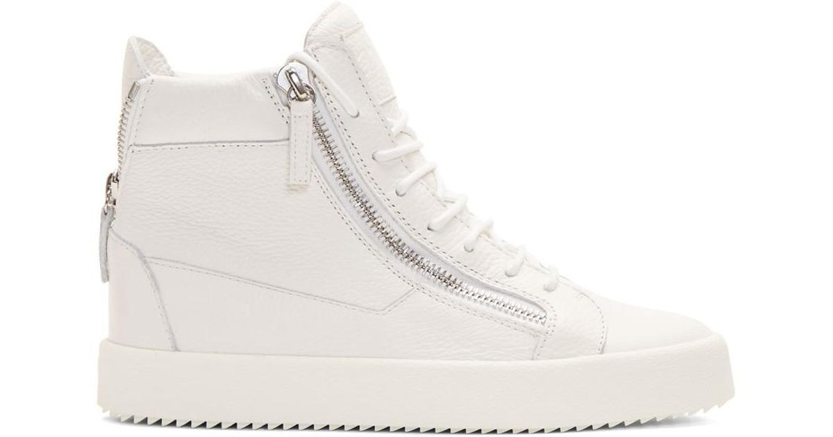 Giuseppe Zanotti SSENSE Exclusive Glitter May London High-Top Sneakers Buy Cheap Outlet Locations With Credit Card For Sale View Cheap Price Factory Outlet Cheap Price EibkaZVX
