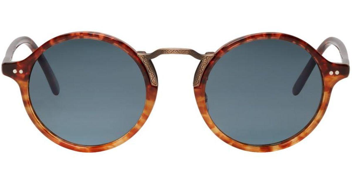 1282 Lyst Vintage Men Oliver Peoples Sunglasses For Tortoiseshell Kosa vf7Ybgy6
