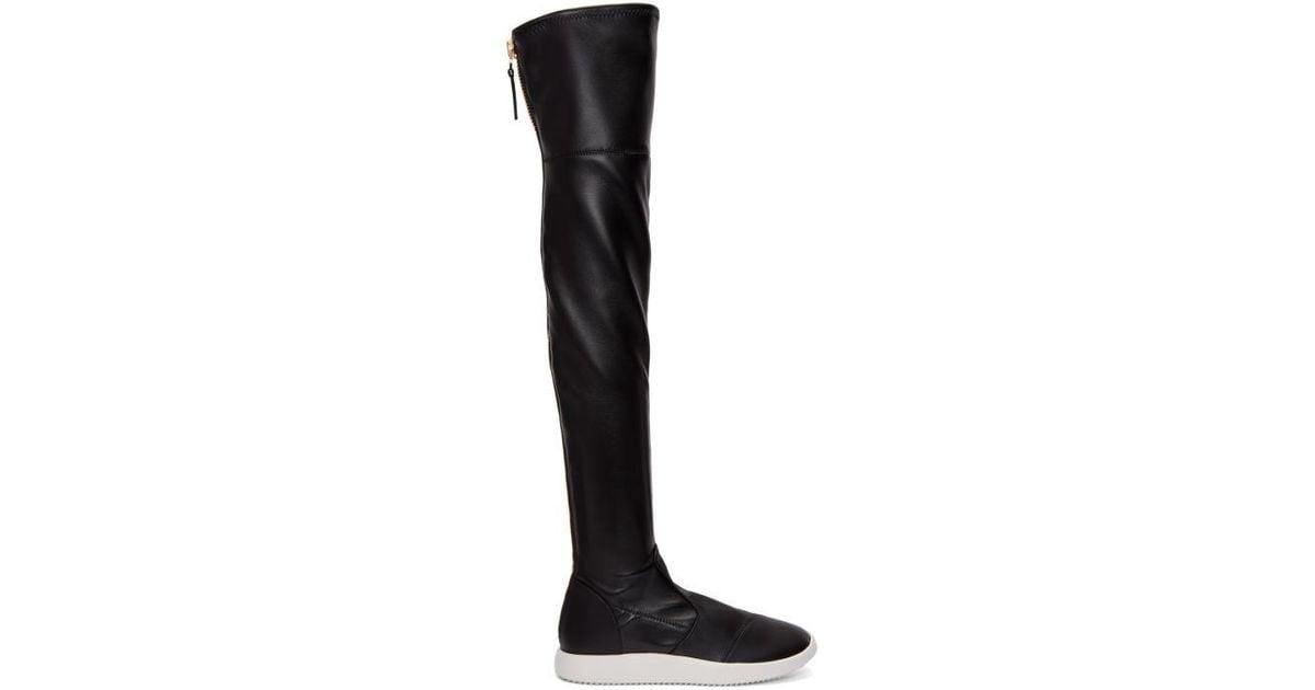 Giuseppe Zanotti Quad Over-the-Knee Boots nzBjoM