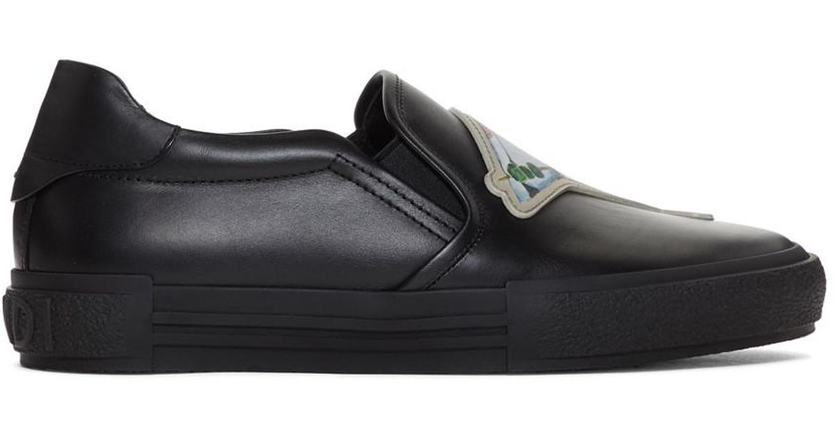 Buy Online Cheap Black Everyday Keys and Martini Slip-On Sneakers Fendi Pictures Cheap Online Clearance Outlet Store LwDt3gLuzT