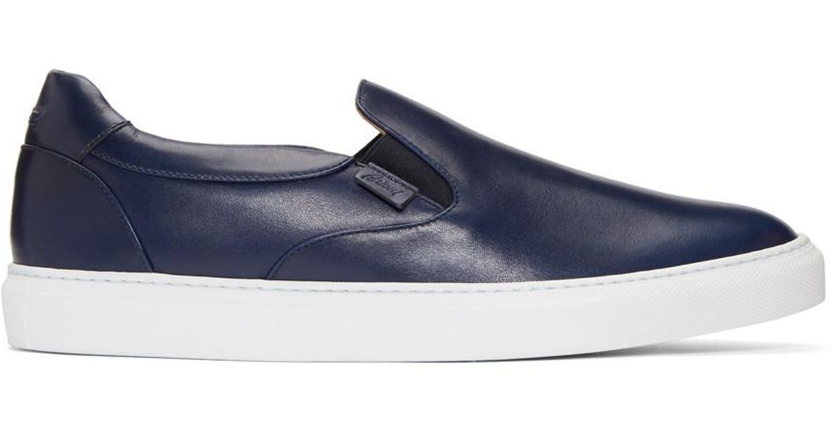 innovative design 9c0be 6ec82 brioni-navy-Navy-Larry-Slip-on-Sneakers.jpeg