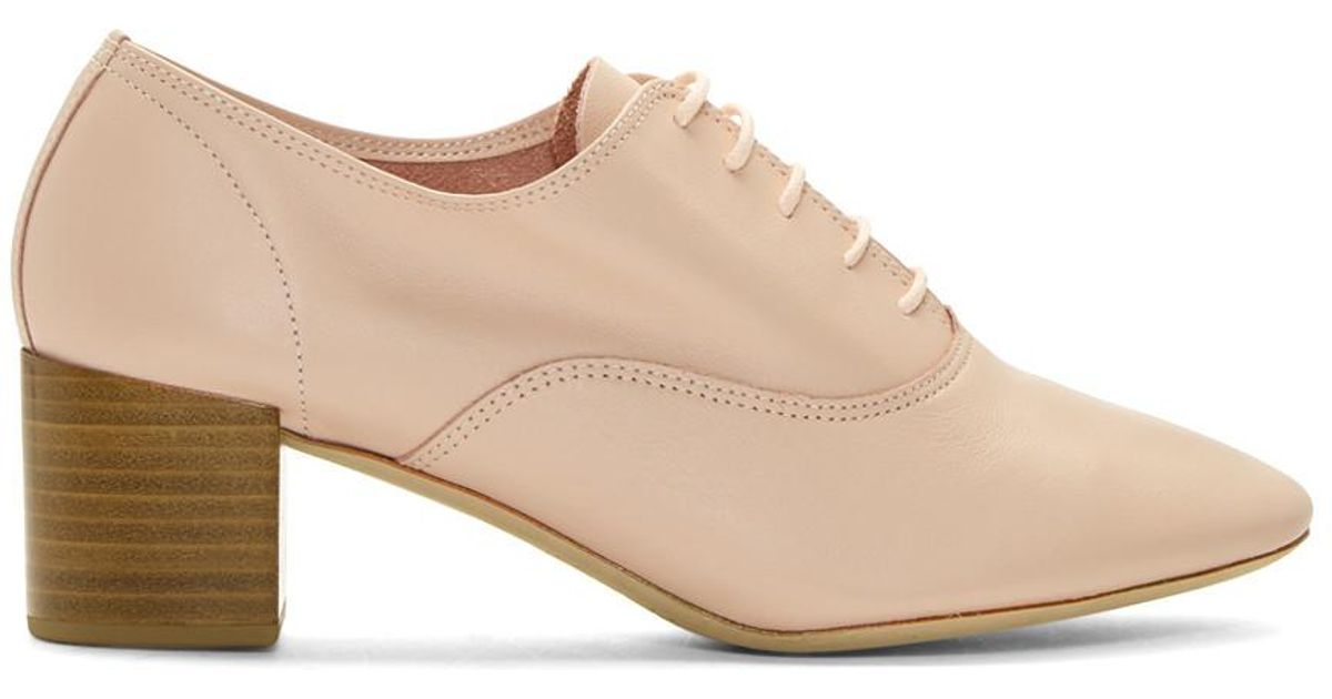 Pink Heeled Oxfords Repetto yt5rB3Tuh