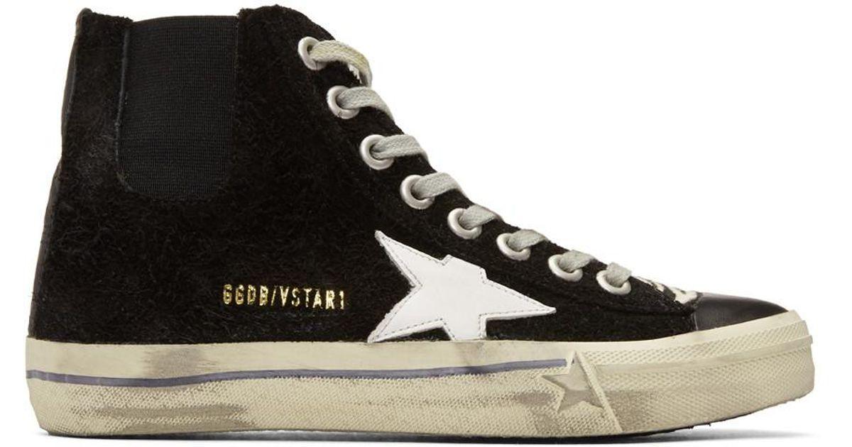 Golden Goose Deluxe Brand High Top Sneakers Met Rits Aan De