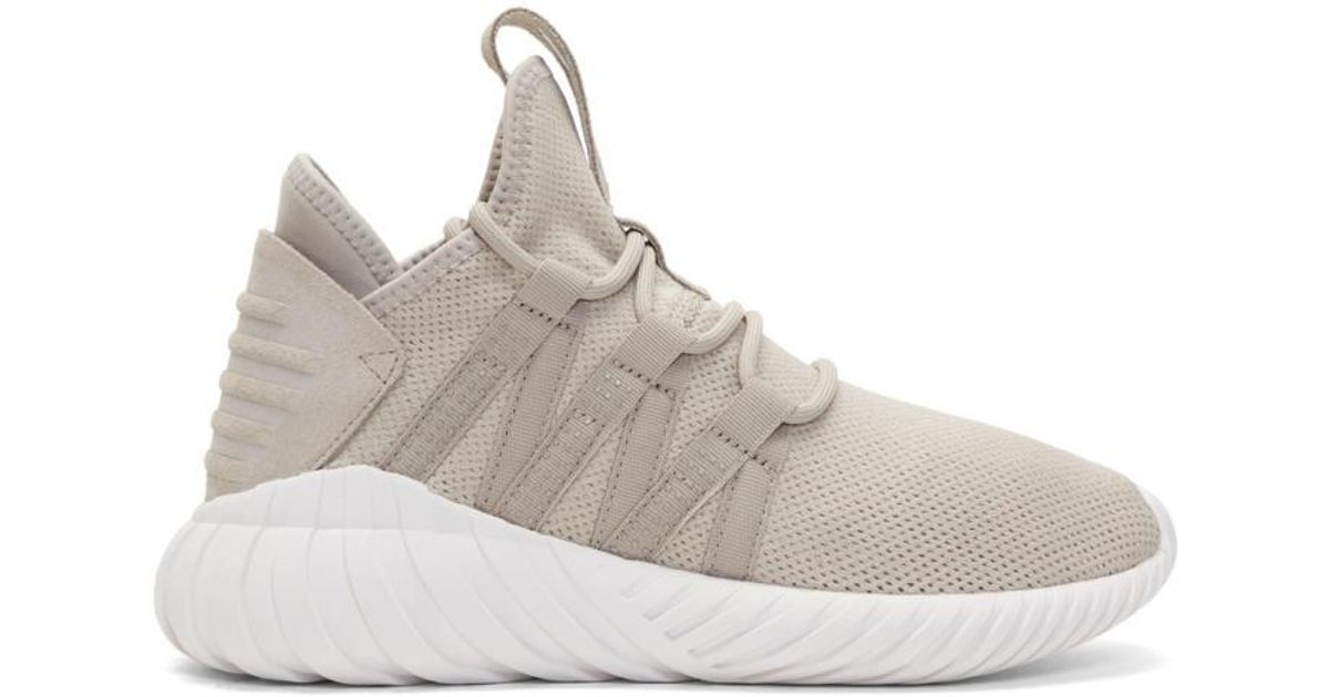 newest bc539 37821 adidas-originals-taupe-Taupe-Tubular-Dawn-Sneakers.jpeg