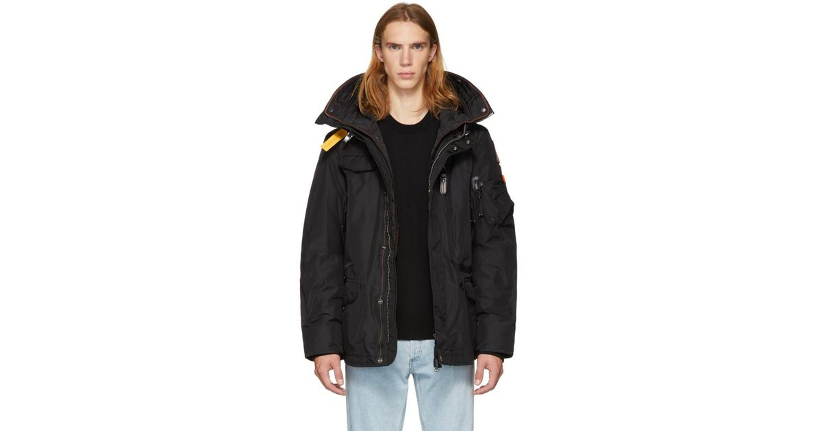 Lyst - Parajumpers Black Masterpiece Base Right Hand Jacket in Black for Men