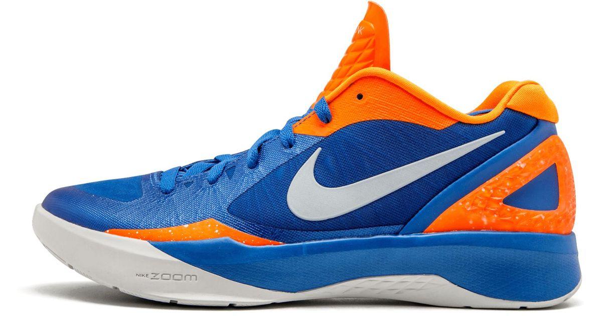 huge discount cee68 5980d Lyst - Nike Zoom Hyperdunk 2011 Low in Blue
