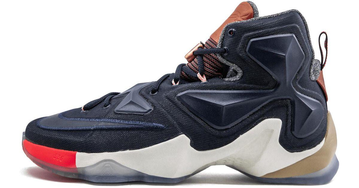 8bc02bd833c4 Lyst - Nike Lebron 13 Lmtd in Blue for Men