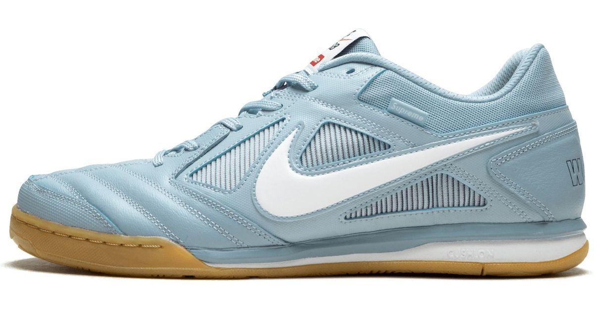 innovative design 6bf18 32773 Nike Sb Gato Qs Light Armory Blue white  supreme  in Blue for Men - Lyst