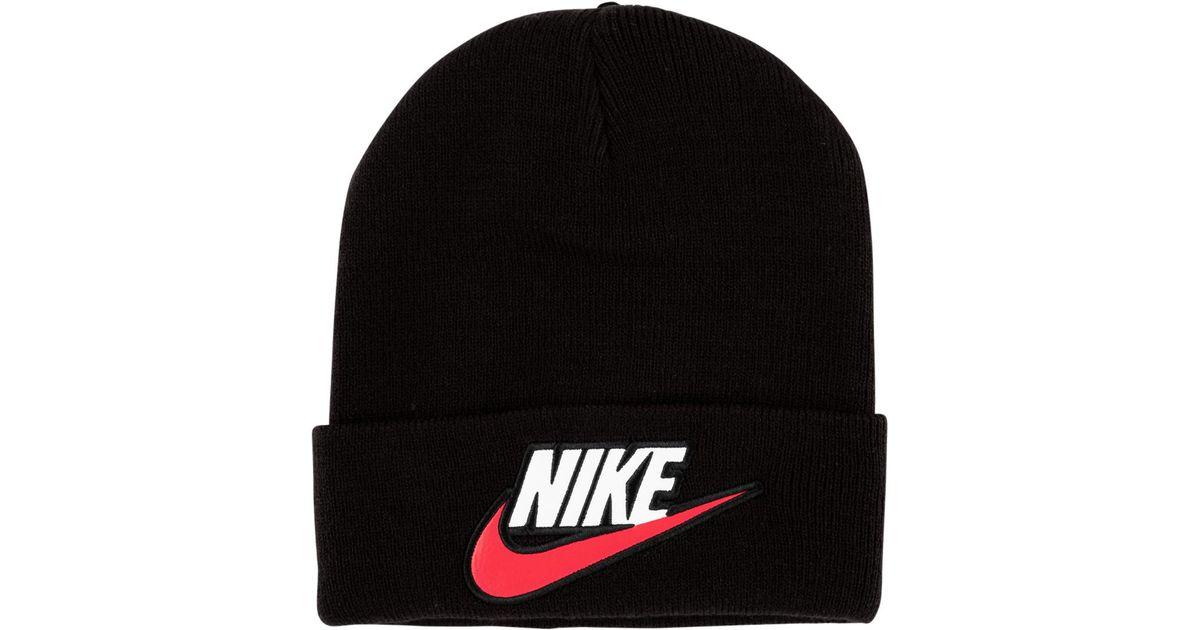 Lyst - Supreme Nike Beanie in Black for Men 4c90a27410c