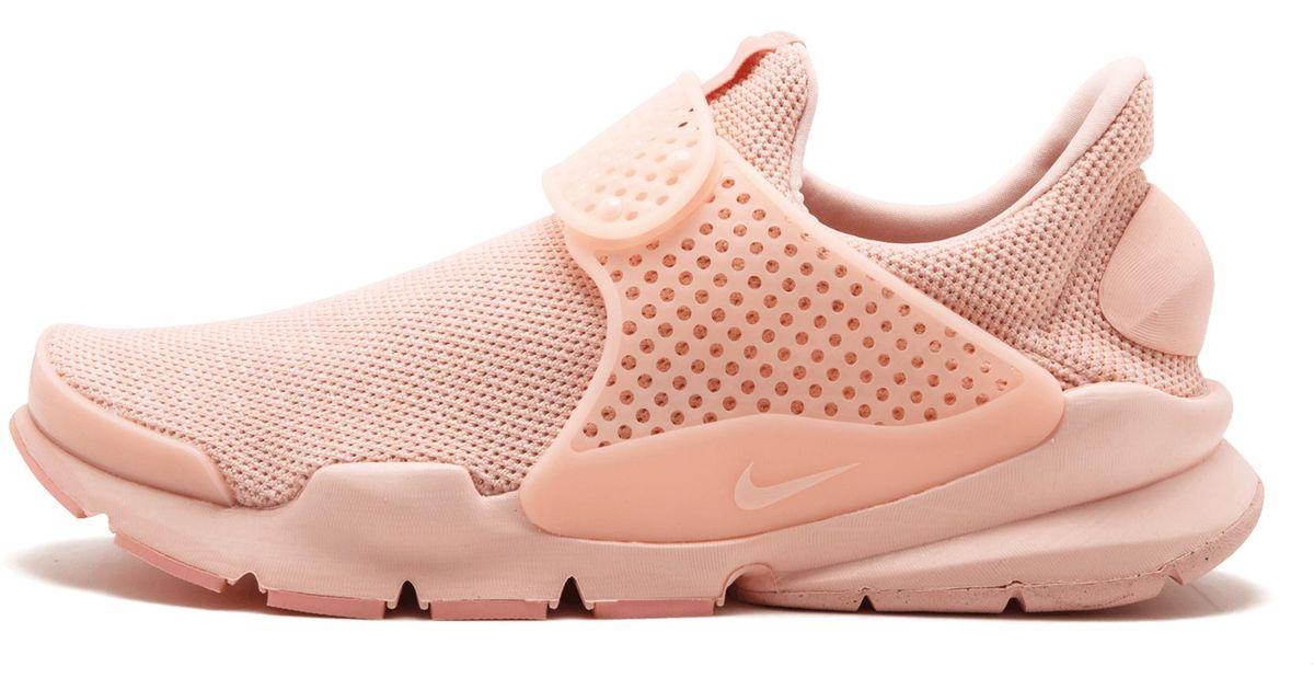 huge discount d47b9 cb1f1 Nike - Pink Nike Sock Dart Br - Lyst