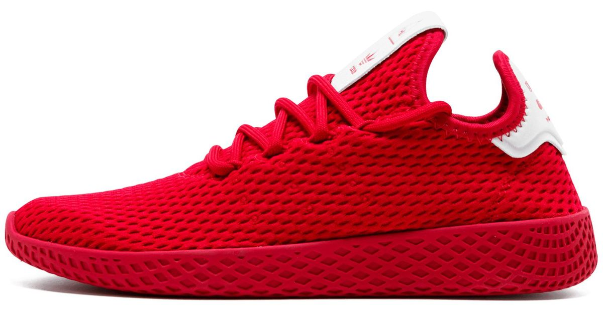 8f61be8d5 Lyst - adidas Pharrell Williams Tennis Hu in Red for Men - Save 50%