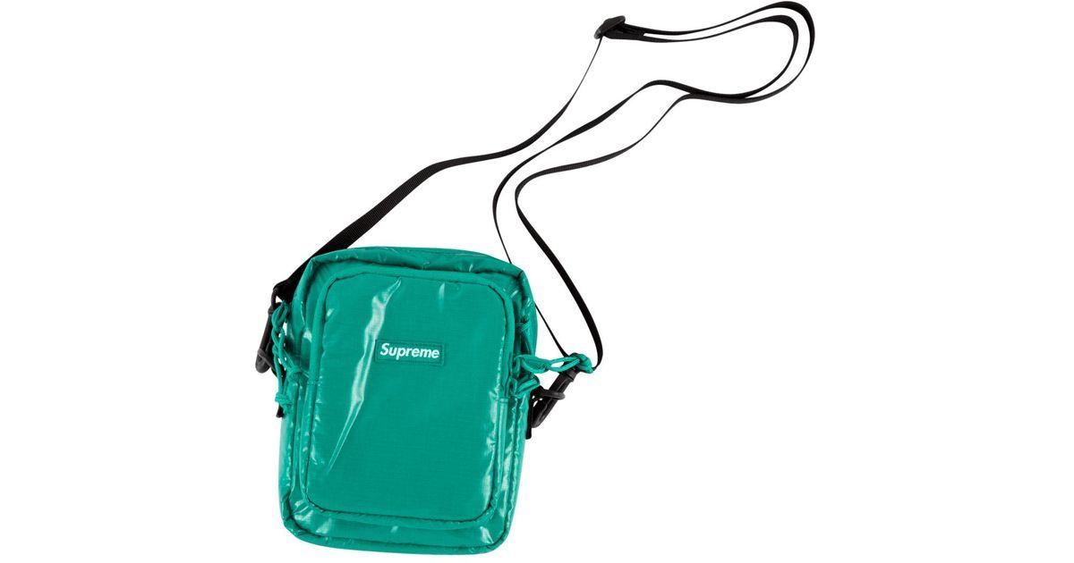 4adddcab53d9 Lyst - Supreme Shoulder Bag in Green