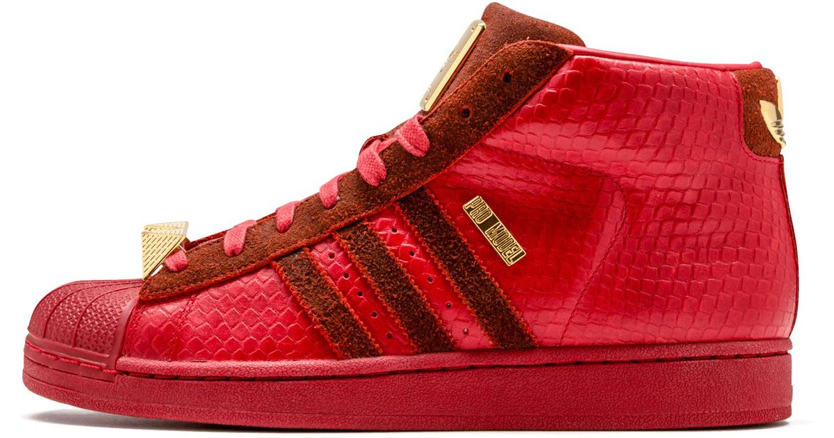 ... uk adidas pro model promo in red for men save 4.166666666666671 lyst  d3426 200b1 ba3293ff7