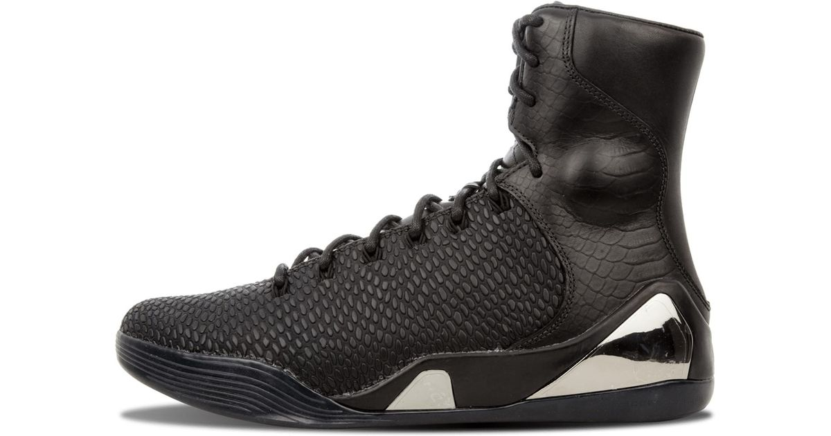 sports shoes 99393 f5558 Nike Kobe 9 High Krm Ext Qs in Black for Men - Save 9% - Lyst