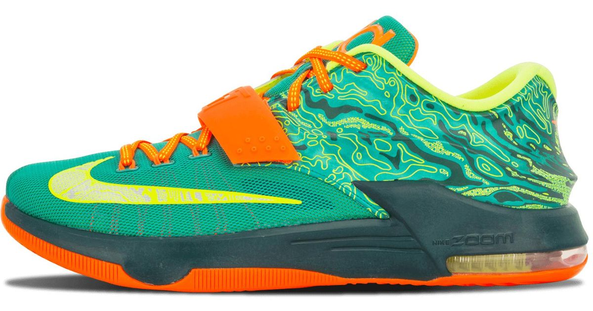 online store 925e4 e71a0 shopping nike kevin durant kd 6 vi neon green dark green online for sale  950f4 7ffea  amazon nike kd 7 in green for men lyst d77ce af8ca