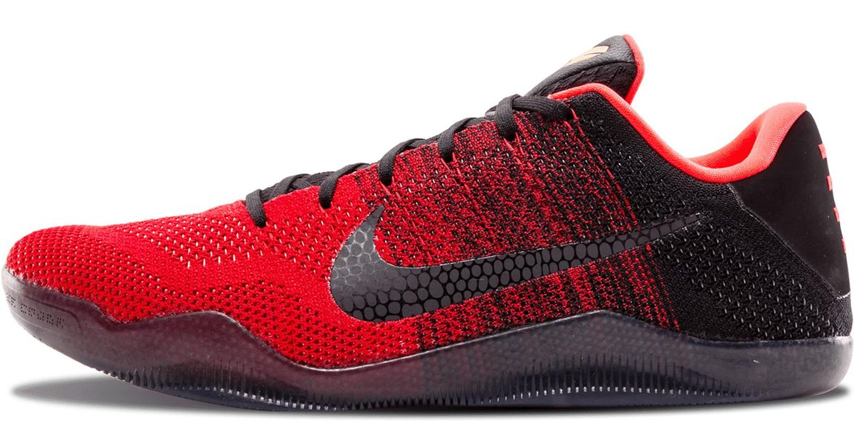in stock abdfd e1f17 Lyst - Nike Kobe 11 Elite Low in Red for Men