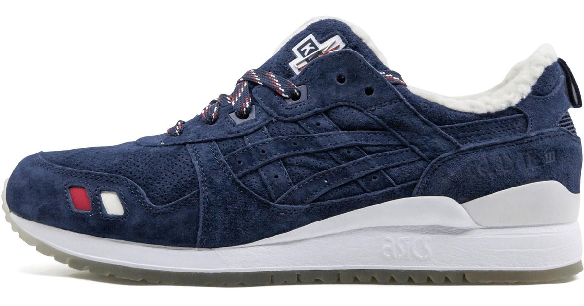 low cost 972eb 1b299 Asics - Blue Gel-lyte Iii Kith X Moncler Bl - Size 10 for Men - Lyst