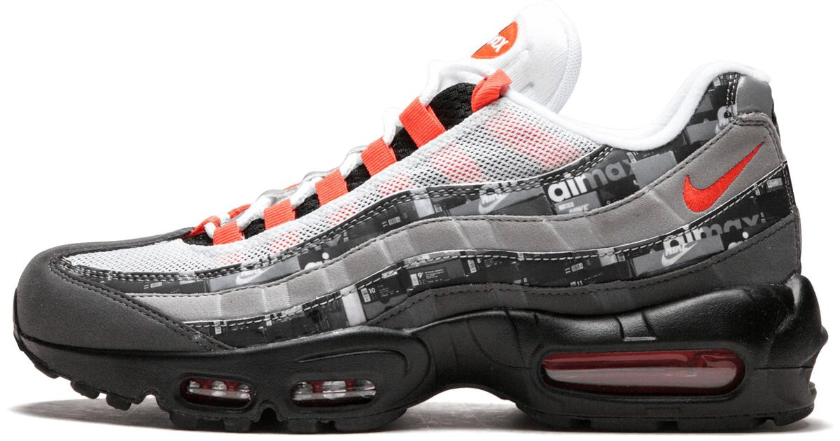 62a7d3f659 Lyst - Nike Air Max 95 Print in Gray for Men
