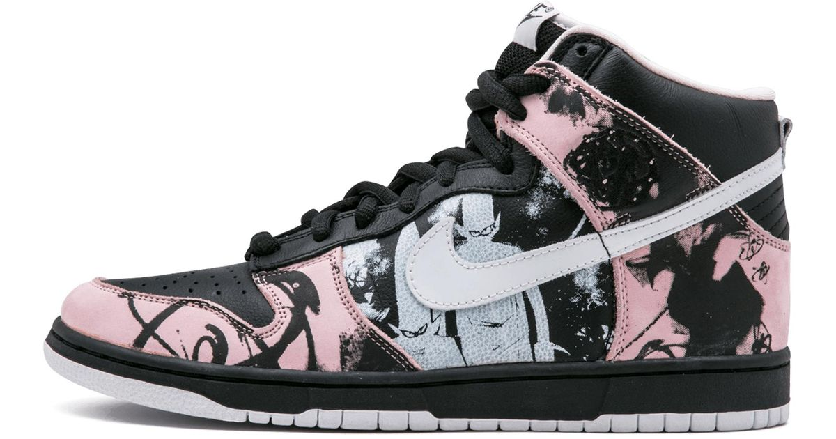 new concept 6878d 40554 Nike Dunk High Pro Sb in Black - Lyst