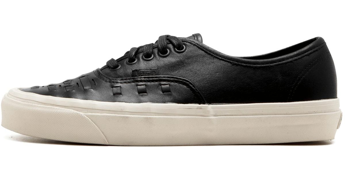 d3bf380be0 Lyst - Vans Authentic Weave in Black for Men