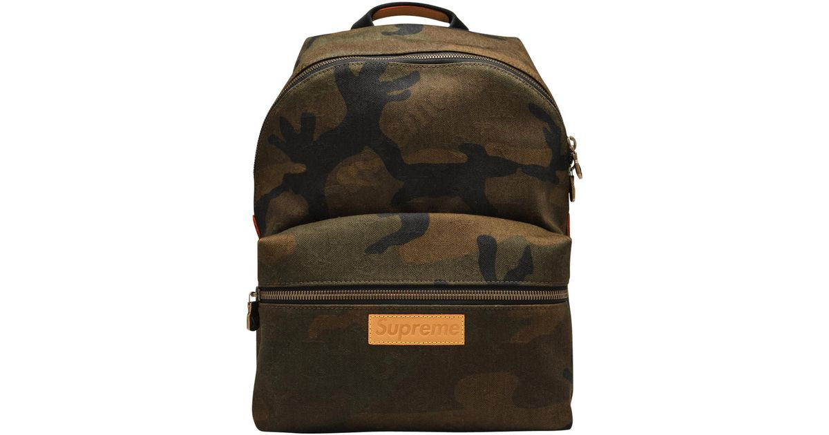 Lyst - Louis Vuitton Apollo Backpack in Green for Men 38b7a59566867