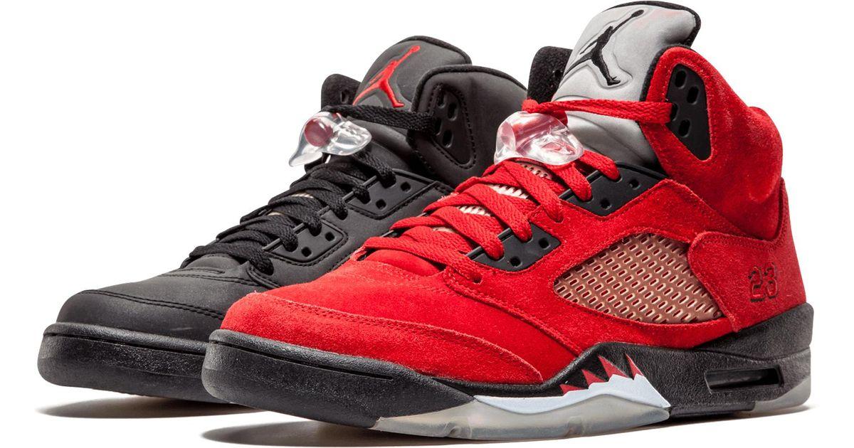 sports shoes 2d553 4df53 Lyst - Nike Air 5 Retro Dmp Multi collegiate Orange  raging Bull Pack  in  Red for Men - Save 38%