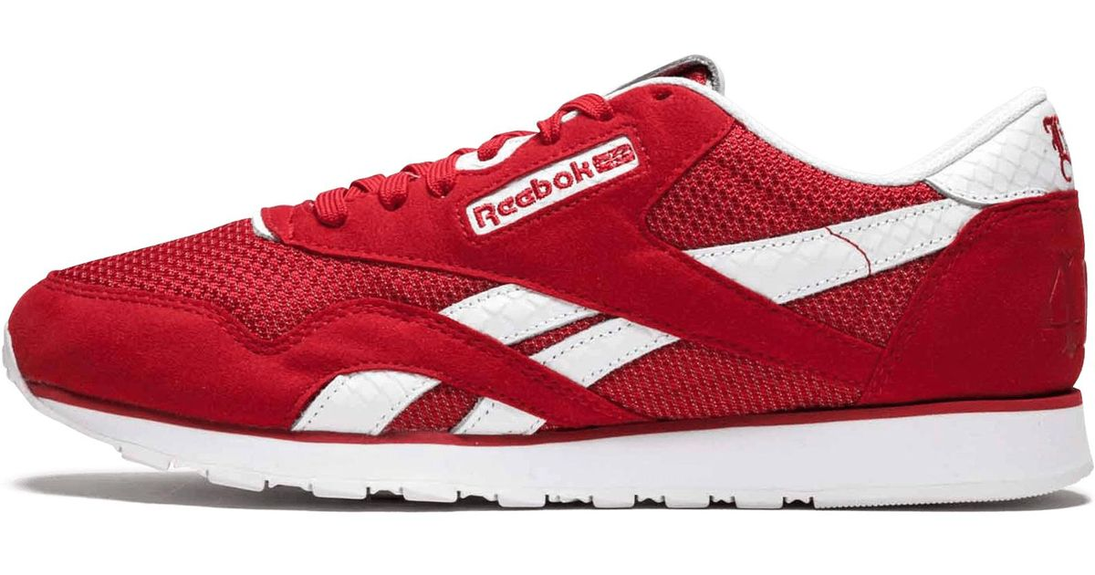 de78e9b0970cc Lyst - Reebok Classic Nylon Bait X Yg in Red for Men - Save 42%